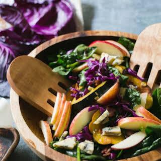 Warm Autumn Spinach Salad.