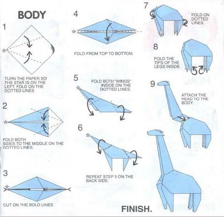 Easy Origami Animals Images Instructions For Kids
