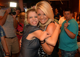 Photo: NASHVILLE, TN - JUNE 25:  Singer/Songwriter Lauren Alaina spends time with campers attending the ACM Lifting Lives Music Camp - Wildhorse Saloon with Lauren Alaina party at the Wildhorse Saloon on June 25, 2013 in Nashville, Tennessee.  (Photo by Rick Diamond/Getty Images for ACM)