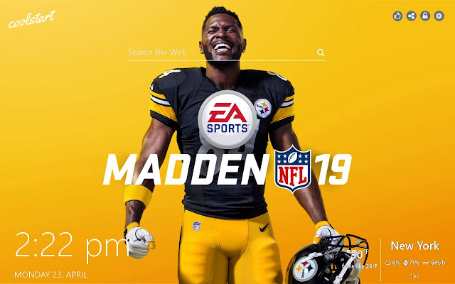 Madden 19 HD Wallpapers NFL New Tab Theme
