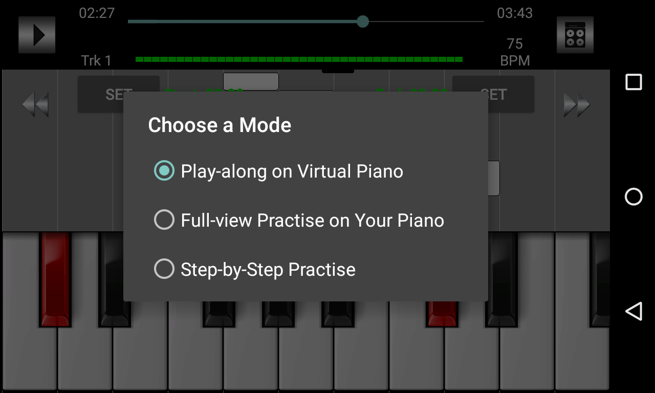 Piano Instructor- screenshot