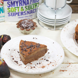 Raw Vegan Chocolate Fig Tart & Apricot Layered Tart