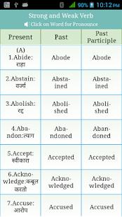 Verbs Marathi Apps On Google Play