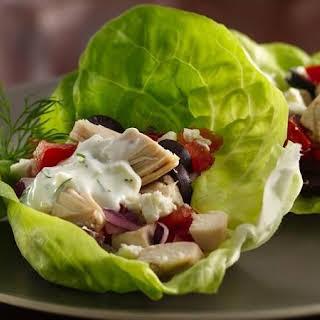 Greek Lettuce Wraps.