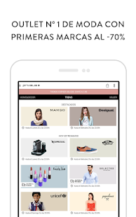 Privalia, outlet moda online - screenshot thumbnail