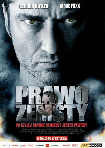 Przód ulotki filmu 'Prawo Zemsty'