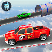 Truck Racing Stunts: Impossible Track Game