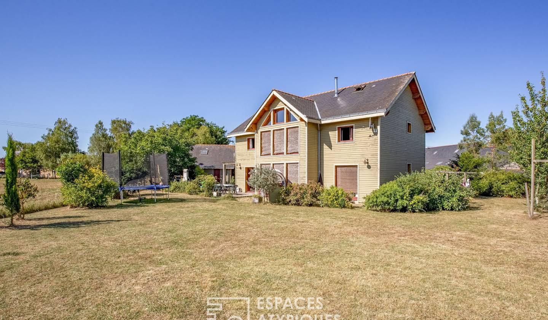 Maison avec terrasse Brigné