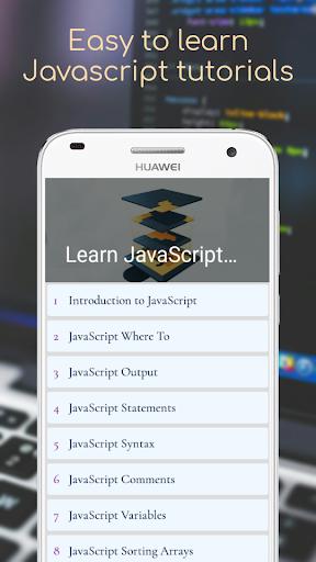 Learn JavaScript - Project Based Tutorials Point Screenshots 3