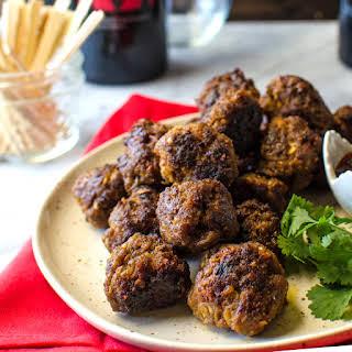 Indonesian Beef Meatballs.