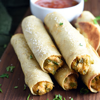 Chicken and Cheese Baked Taquitos