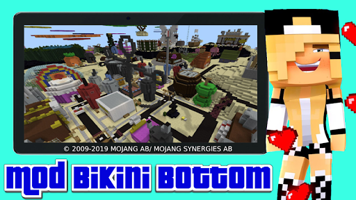 Mod bikini bottom apkmr screenshots 3