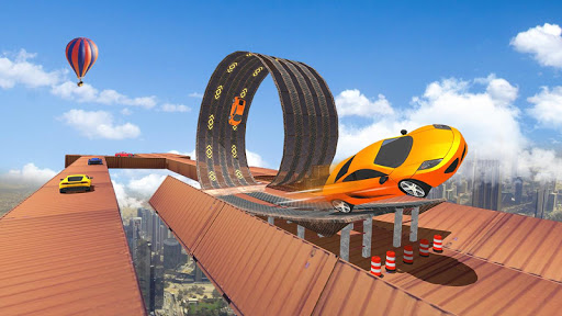 Impossible Tracks Car Stunts Driving: Racing Games android2mod screenshots 4