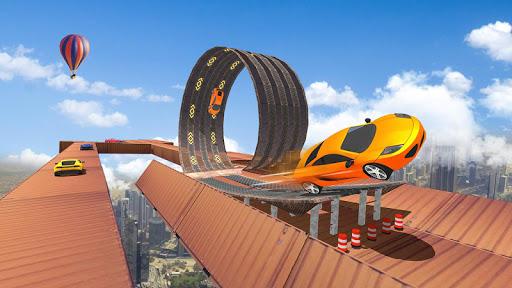 Impossible Tracks Car Stunts Driving: Racing Games apkpoly screenshots 4
