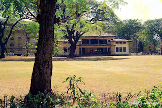 Photo: Pavillion, Wadia Baug, Byculla - 1994-01-16