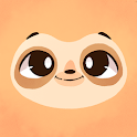 Sloth World - Play & Learn! icon
