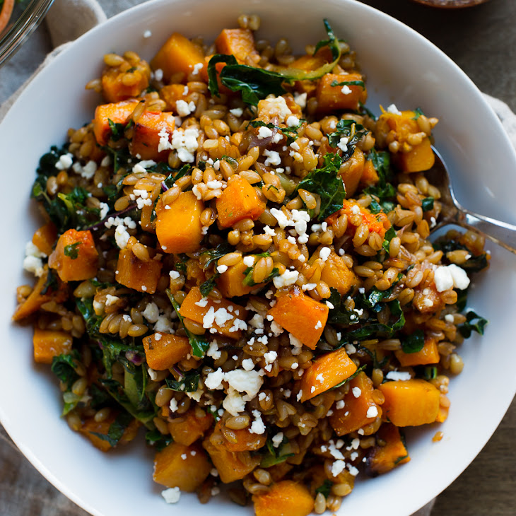 Farro And Roasted Butternut Squash Recipes — Dishmaps
