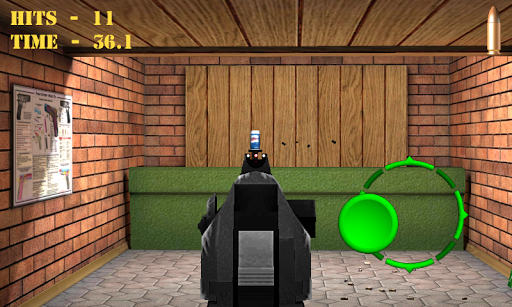 Pistol shooting at the target.  Weapon simulator 4.0 screenshots 8