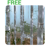 Bamboo Forest 3D Live Wallpaper Free