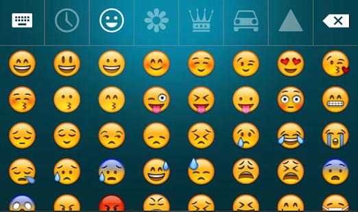 Spanish English Languages keyboard and emoji 2019 - Screenshot