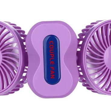 Mini雙向風扇(紫色)