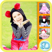 Cute Kids Hijab