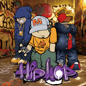HipHop Boy Graffiti