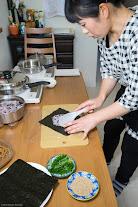 黒千石レシピ:黒千石おにぎらず・作り方