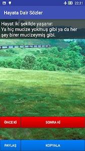Hayata Dair Sözler screenshot 1