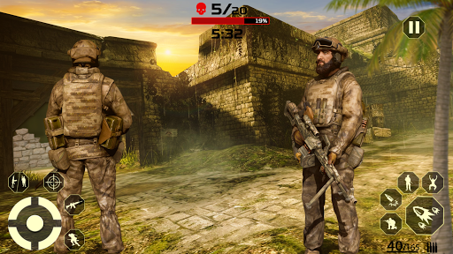 Fire Free Battle Royale: Cover Fire Special Force  screenshots 5