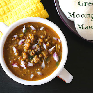 Green Moong Dal Masala.