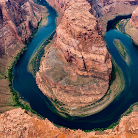 Horseshoe Bend by Lee Davenport - Landscapes Deserts (  )