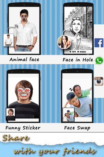 Face Look Changer Pro- screenshot