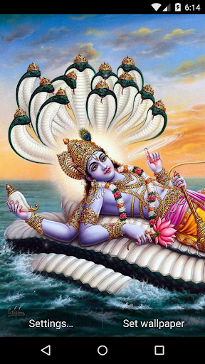Vishnu Live Wallpaper HD