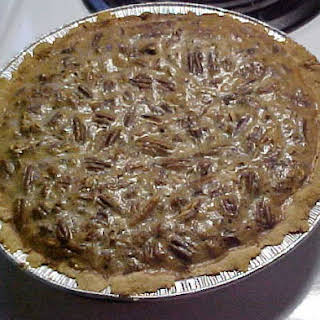 Pecan Pie Recipe Perfect for Low Carb Atkins, South Beach, or Diabetics.