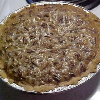 Pecan Pie Recipe Perfect for Low Carb Atkins, South Beach, or Diabetics.