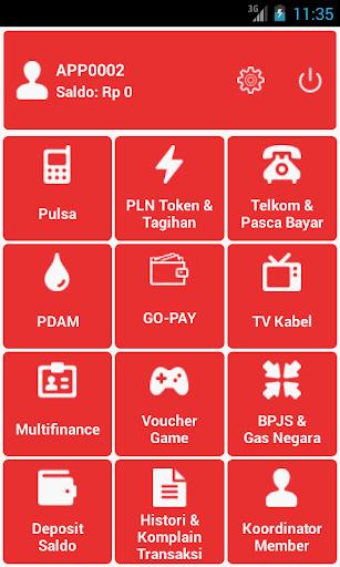 EPLUS - ISI PULSA dan PPOB ONLINE 1.13 screenshots 2
