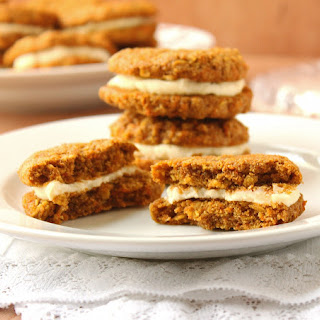 Oatmeal Cream Pies with Mascarpone Cheese Filling