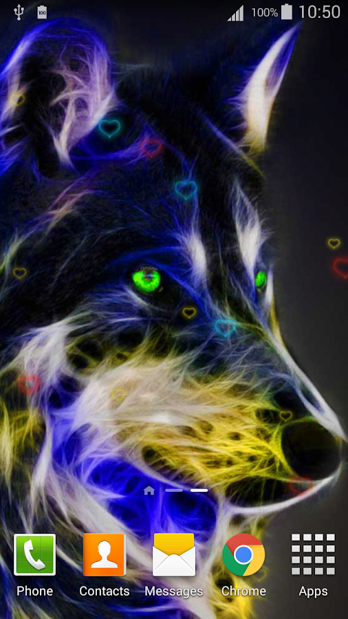 Neon animals live wallpaper hd android apps on google play - Neon animals wallpaper ...