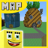 Bikini Bob Map for Minecraft