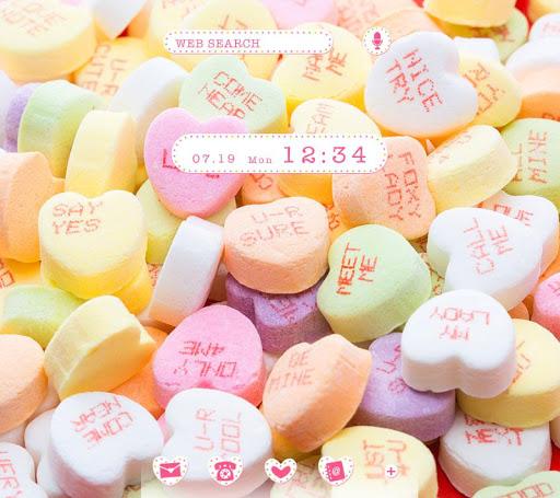 Sweets Wallpaper Candy Hearts 1.0.0 Windows u7528 1