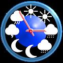 eWeather HDF: weather app & widget with barometer icon