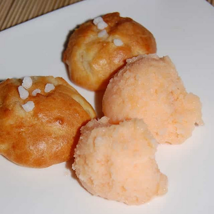 Cantaloupe Sorbet - Thermomix Recipe