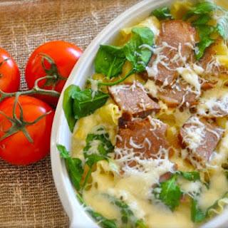 Olive Garden Baked Pasta Romana beef.