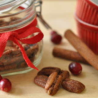 Candied Spice Pecans