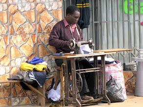 Photo: Lilongwe - a taylor