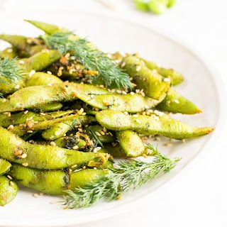Dill Edamame Snack.
