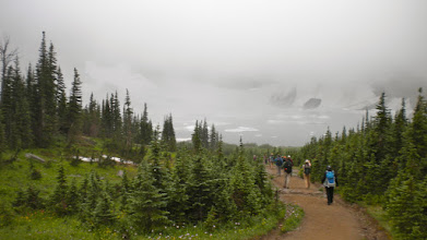 Photo: Our first look at Iceberg Lake