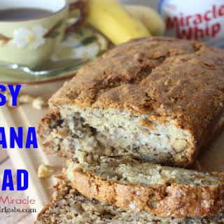 Easy Banana Bread #TasteTheMiracle.