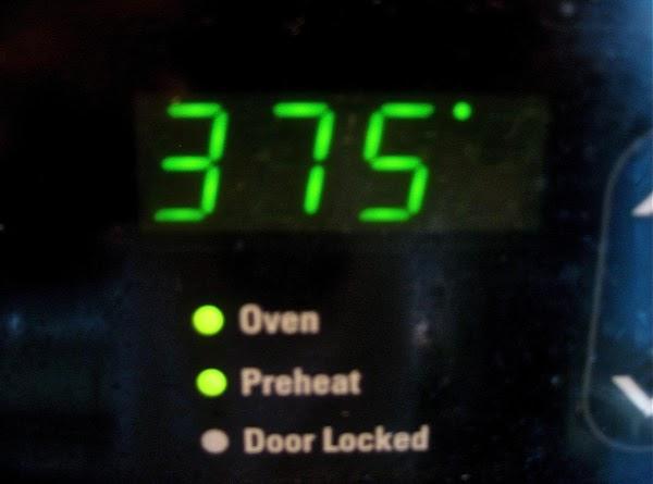 Preheat oven to 375.